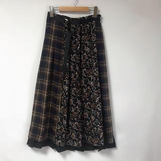 ページボーイ(PAGEBOY)の【PAGEBOY】切り替えスカート(ロングスカート)