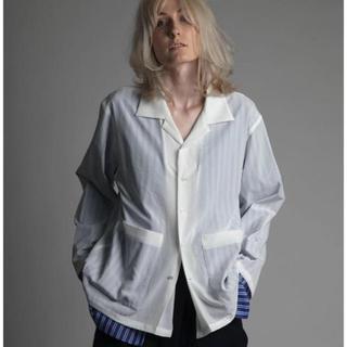 サンシー(SUNSEA)のATHA レイヤードシャツ。(ブルゾン)