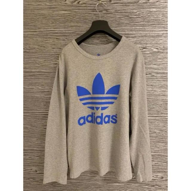 adidas(アディダス)のadidas アディダス ロングTシャツ メンズのトップス(Tシャツ/カットソー(半袖/袖なし))の商品写真