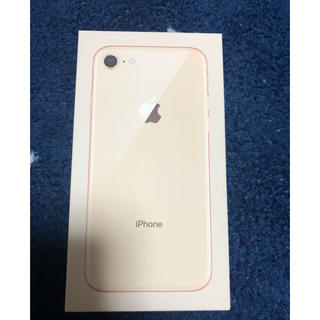iPhone - 新品 iPhone8 64GB ゴールド simフリー
