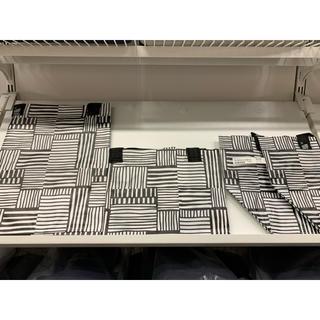 イケア(IKEA)の【各1枚合計3枚】FISSLA フィスラ キャリーバッグ(その他)