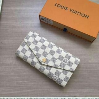 ルイヴィトン(LOUIS VUITTON)のLOUIS VUITTON ルイヴィトン 長財布 ダミエ 白 男女兼用 在庫有り(財布)