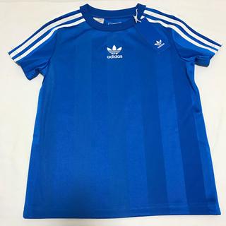 アディダス(adidas)の新品 アディダス オリジナルス 半袖 Tシャツ 130 ブルー(Tシャツ/カットソー)