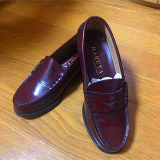 【新品】日本製 HARUTA ハルタ ローファー 牛革 ダークブラウン(ローファー/革靴)