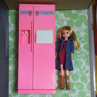 Barbie - ドール(バービー/リカちゃん/ジェニー)用 冷蔵庫