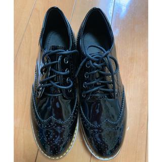 マウジー(moussy)の厚底 ローファー オックスフォード(ローファー/革靴)