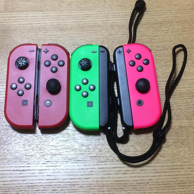 Nintendo Switch(ニンテンドースイッチ)のSwitch Joy-Con 2セット ジャンク エンタメ/ホビーのテレビゲーム(家庭用ゲーム本体)の商品写真