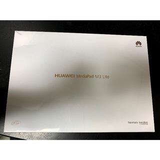 アンドロイド(ANDROID)の新品未開封品 Huawei MediaPad M3 Lite 10(タブレット)