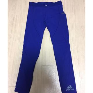 アディダス(adidas)の【Adidas】アディダス 青レギンス(その他)