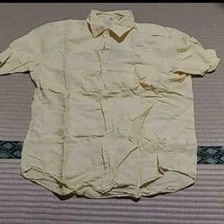 ユニクロ(UNIQLO)のUNIQLO ユニクロ リネン ブレンド メンズ 半袖シャツ(シャツ)