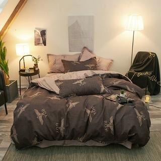 寝具カバー 4点セット 素晴らしい デザイン 柔らか優しい肌触り 爽やか B3