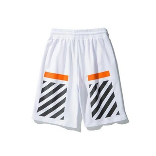 オフホワイト(OFF-WHITE)のOFF WHITE ショートパンツ 夏 メンズ   L ウェスト 31213(ショートパンツ)