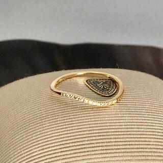 アガット(agete)のagete アガット ダイヤウェーブリング(リング(指輪))