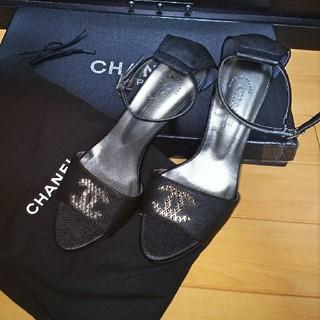 シャネル(CHANEL)のCHANEL  新品未使用ヒールサンダル(サンダル)