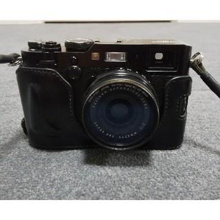 フジフイルム(富士フイルム)の富士フイルム X100F ブラック 美品(コンパクトデジタルカメラ)