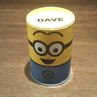 ミニオン(ミニオン)のミニオンズ 缶 DAVE(キャラクターグッズ)