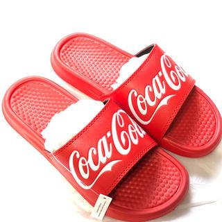 コカコーラ(コカ・コーラ)のまもなく出品削除★早い者勝ち★シャワーサンダル★(サンダル)