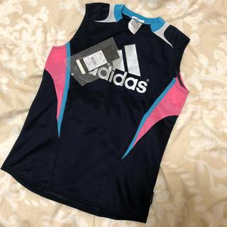 アディダス(adidas)の新品タグあり アディダス メッシュ トップス 140 (Tシャツ/カットソー)