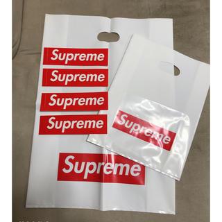 シュプリーム(Supreme)のSupreme ステッカー4枚 ショッパー2枚セット(ステッカー)