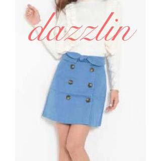 ダズリン(dazzlin)のdazzlin♡リボンが可愛い台形スカート♪(ミニスカート)