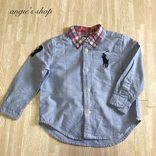 Ralph Lauren - ラルフローレン 襟チェックシャツ 24M 90/52