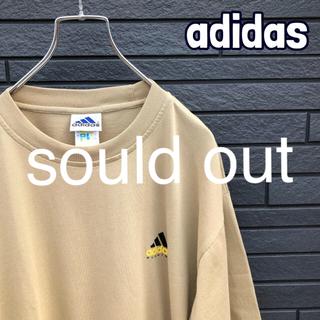 アディダス(adidas)の【レア】good デザイン! adidas 国旗タグ crsロゴ(Tシャツ/カットソー(半袖/袖なし))