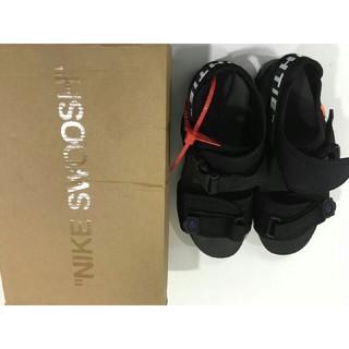 オフホワイト(OFF-WHITE)の19新製品 メンズ  サンダル Off white*Nike サンダル(US8)(サンダル)