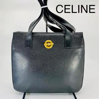 aad436f1c5d2 セリーヌ(celine)の美品 CELINE セリーヌ サークル金具 ダブルフラップ ショルダーバッグ(
