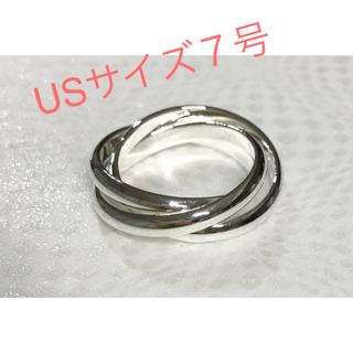 シルバー925 リング3連7号(リング(指輪))