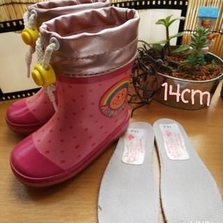 アンパンマン(アンパンマン)のアンパンマン 女児 長靴 ピンク(長靴/レインシューズ)