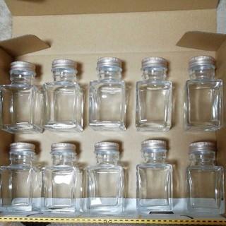ハーバリウム瓶、四角瓶50ml 10本セット(その他)