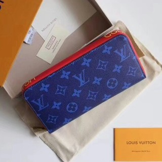 Louis Vuitton ルイ ヴィトン 長財布  ブルー