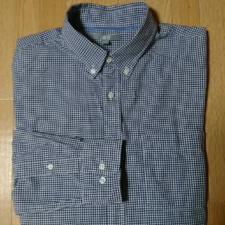 ユニクロ(UNIQLO)の【ユニクロ】ボタンダウンシャツ (L)長袖(シャツ)