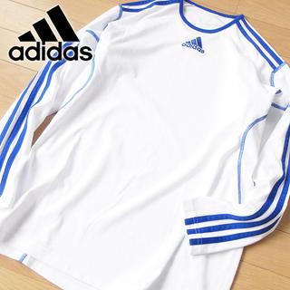 アディダス(adidas)の未使用 160 アディダス climaLITE 長袖カットソー(トレーニング用品)