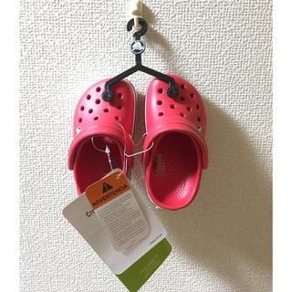 クロックス(crocs)のクロックス☆13㎝☆新品☆タグ付き(サンダル)