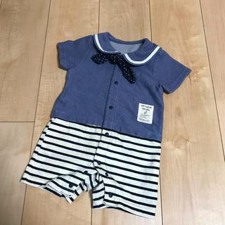 8351a4ede9624 ニシキベビー(Nishiki Baby)のボンシュシュ カバーオール ショートオール (カバーオール)
