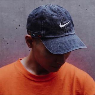 NIKE - 【極少】atmos NIKE KYRIE CAP / カイリー デニム キャップ