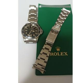 ROLEX - 93150溝なしブレスFF580バネ棒付き①