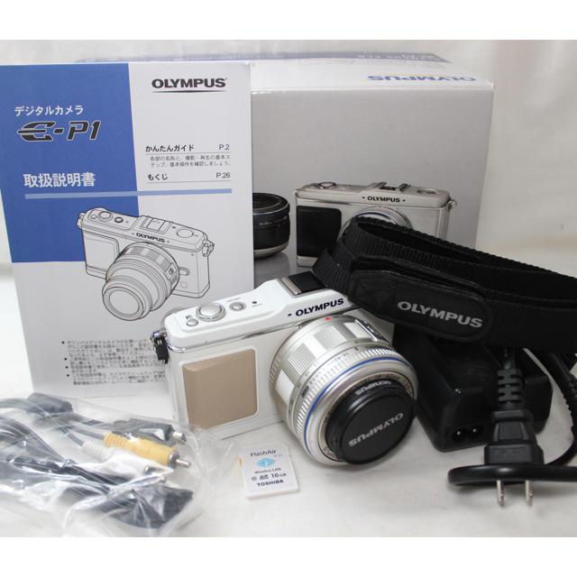 OLYMPUS(オリンパス)の❤️Wi-Fi❤️オリンパス P1 ミラーレスカメラ スマホ/家電/カメラのカメラ(ミラーレス一眼)の商品写真