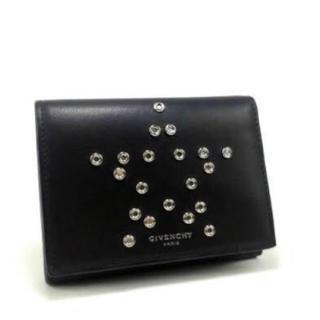 5f9050fb92b9 ジバンシィ(GIVENCHY)のGIVENCHY ジバンシー 三つ折り財布 スター スタッズ(財布)