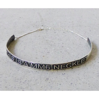 マルタンマルジェラ(Maison Martin Margiela)のマルジェラ ネックレス(リング(指輪))
