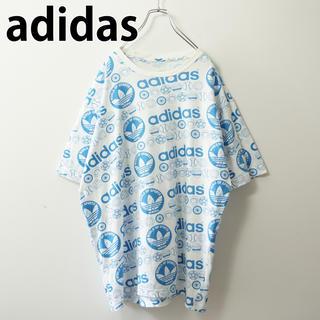 アディダス(adidas)のadidas アディダス Tシャツ 総柄(Tシャツ/カットソー(半袖/袖なし))