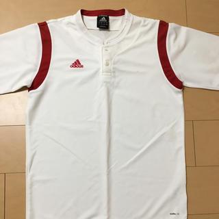 アディダス(adidas)のadidas ベースボールシャツ(ウェア)