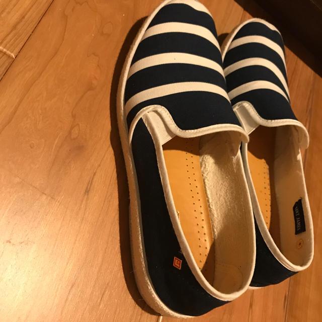 SAINT JAMES(セントジェームス)のセントジェームズリビエラコラボスリッポン ユニセックス メンズの靴/シューズ(スリッポン/モカシン)の商品写真