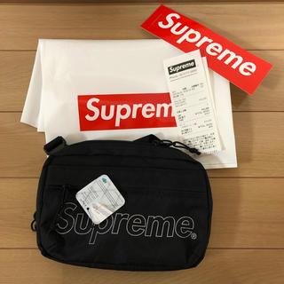 シュプリーム(Supreme)の18fw Shoulder Bag supreme ショルダーバッグ 黒(ショルダーバッグ)