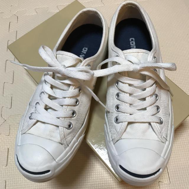 CONVERSE(コンバース)のコンバース ジャックパーセル スニーカー 24.5 レディースの靴/シューズ(スニーカー)の商品写真