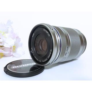 OLYMPUS - 新品❤️OLYMPUS 望遠レンズ 40-150mm シルバー ズームレンズ