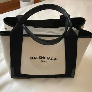 ディーンアンドデルーカ(DEAN & DELUCA)の美品 トートバッグ ネイビーカバ Sサイズ(トートバッグ)