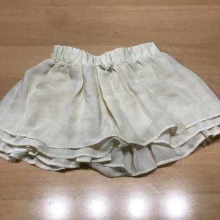 ジーユー(GU)のフリル スカート(スカート)