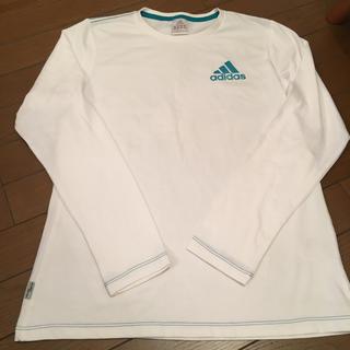 アディダス 長袖Tシャツ